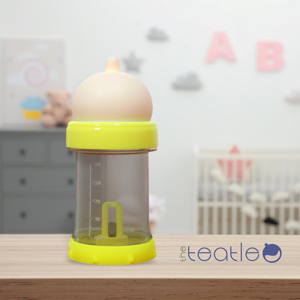 The Teatle baby bottle in a nursery