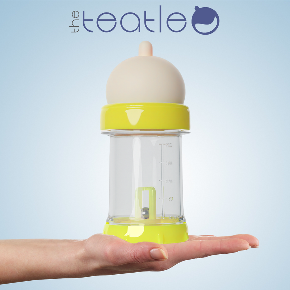 The Teatle on a mother's hand