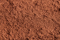 Background of a dry powder cocoa brown.j