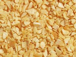 Dried  garlic  - close up view, can be u