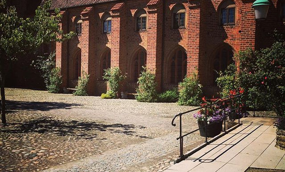 The monastery in Ystad #ystad #kloster #