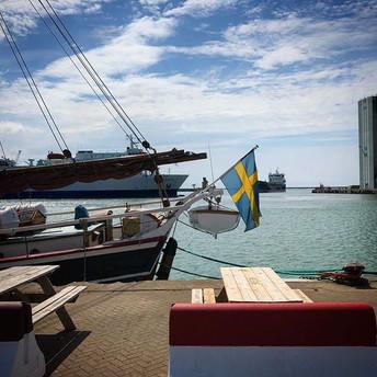 Ystad harbour ⚓️ #Ystad #ystadharbour #l