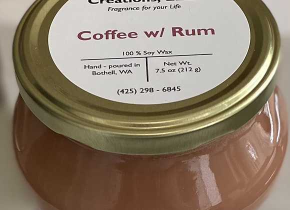 Coffee with Rum