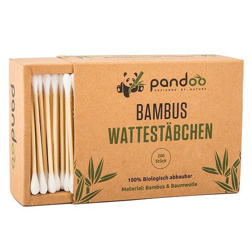 Bambus Wattestäbchen 1x200