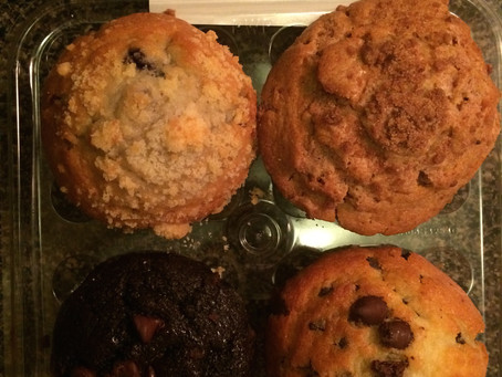 PoFooReview: Archer Farms (Target brand) Variety Muffin 4-pack