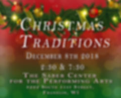 CHristmas Traditions Red and Green TRIMM
