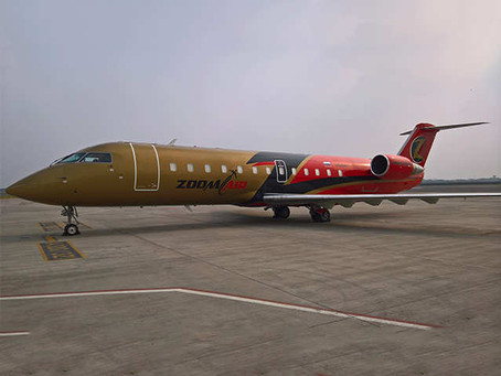 Sky One FZE leases aircraft to the Indian Domestic Airline Zoom Air