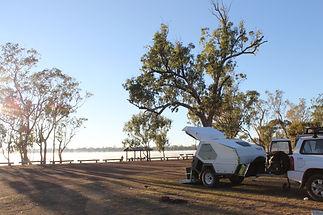 Lake Broadwater Camping Area