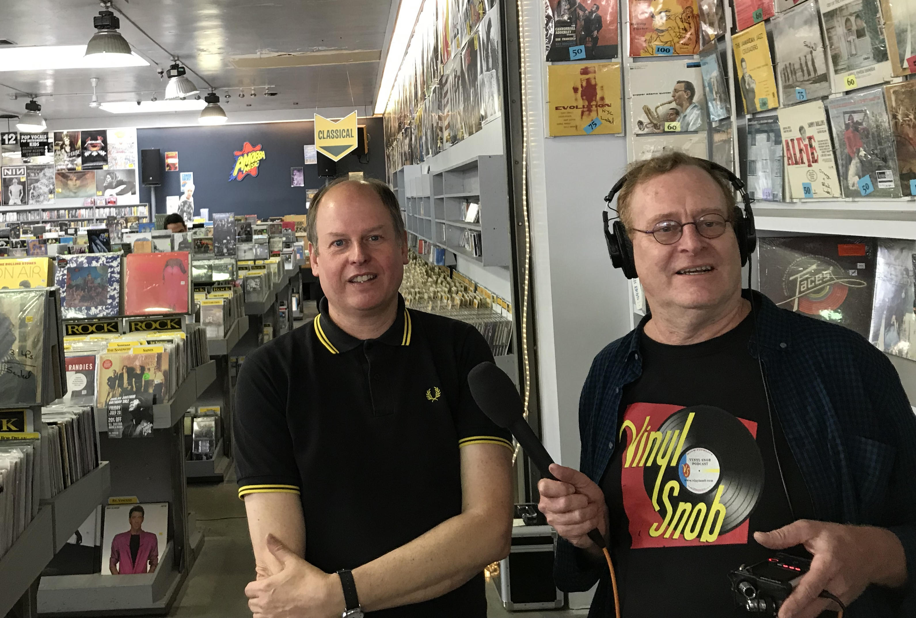Ken & Dave at Amoeba