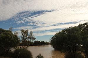 Long Waterhole billabong camping