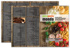 Design Junction Pizza Pasta Mondo