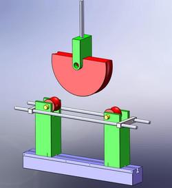 Bend Test Fixture design for bending tubes