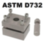 ASTM D732 Shear Punch Fixture