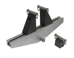 Bend Fixture with extra tall supports
