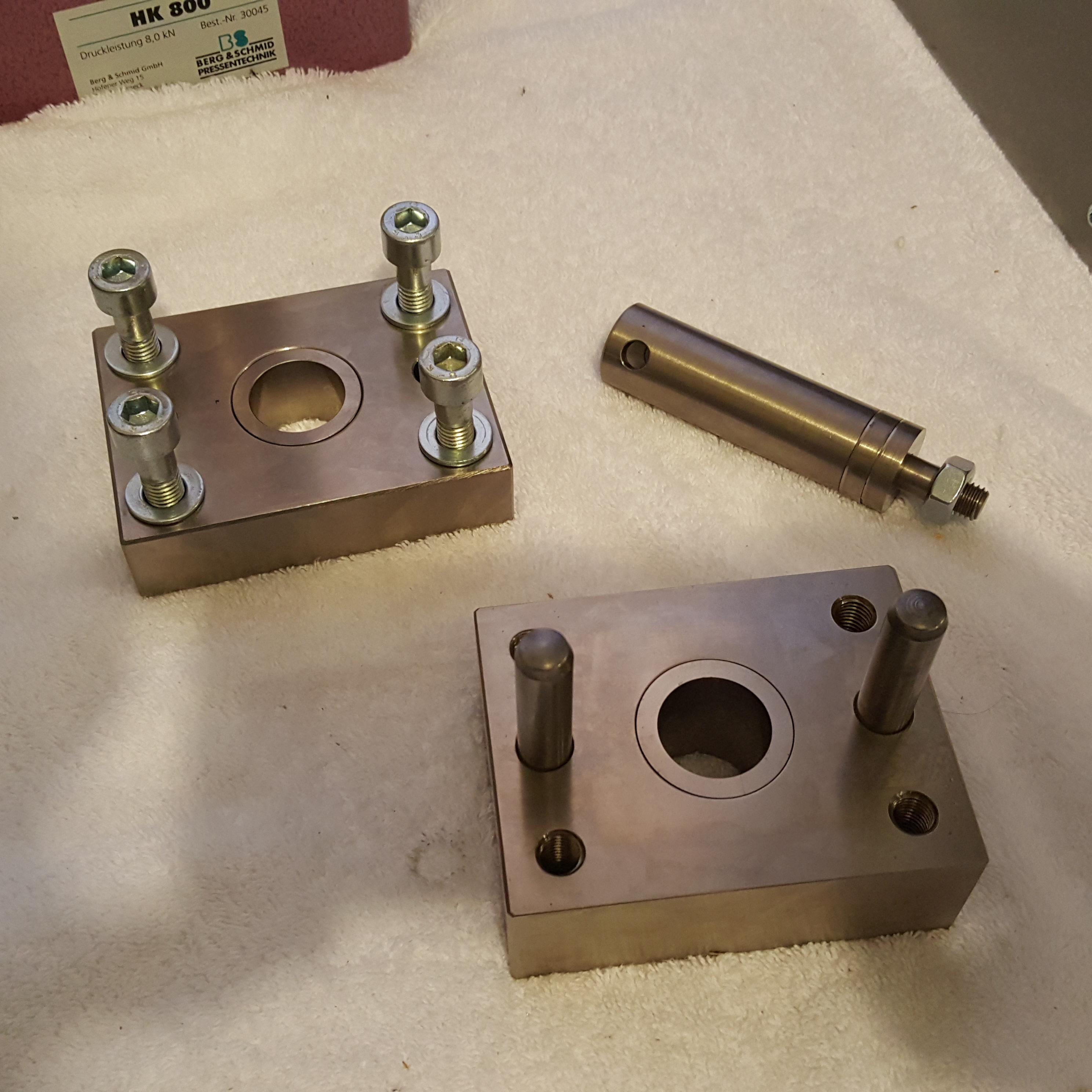 ASTM D732 Plastics Shear Fixture