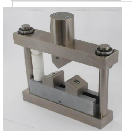 Guided bend testing fixture