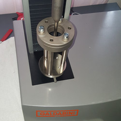 ASTM D4833 on a Galdabini Universal Testing Machine