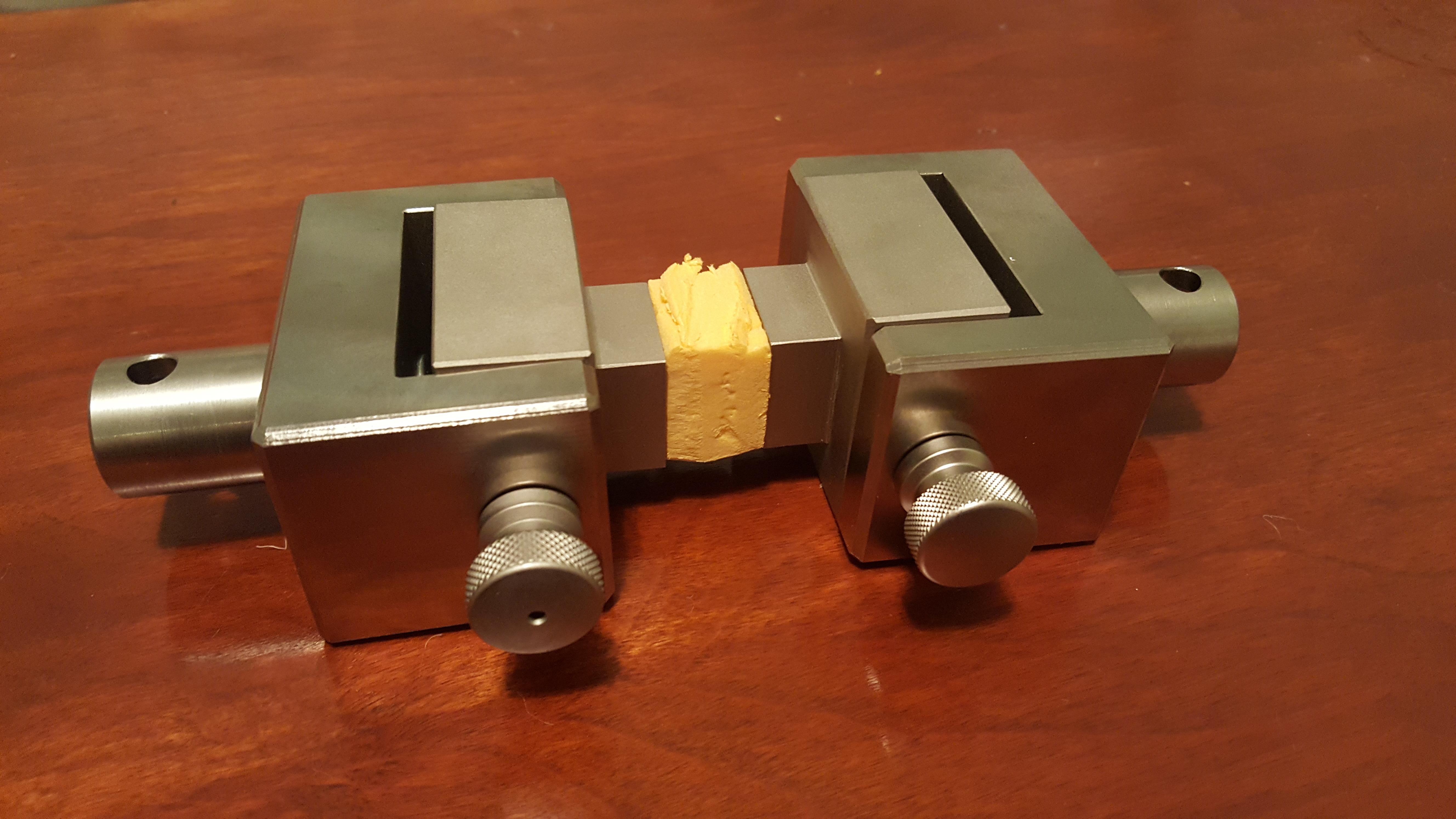 ASTM C297 Fixture for tensile testing