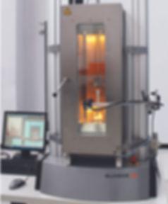 Environmental Chamber on a Universal Testing Machine