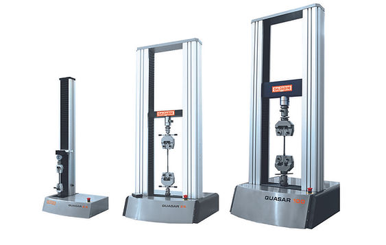 Benchtop material testing machines