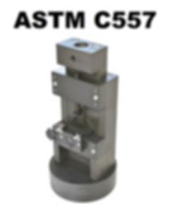 ASTM C557 Shear Fixture
