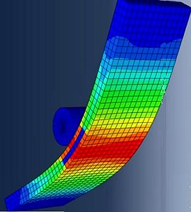 3 point bend test 3D model