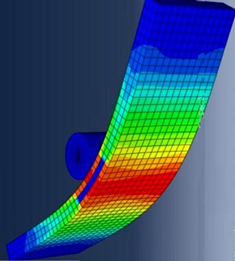 ASTM C393 Bend Fixture