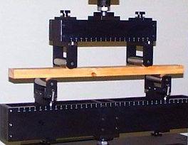 ASTM D198 Flexure Test Fixture