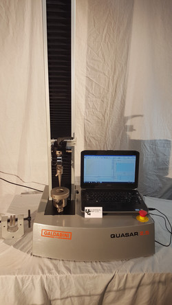ASTM F1306 Pucture Fixture on a Universal Testing Machine