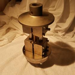 Sample in ASTM D6641 Fixture