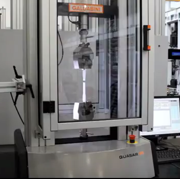 Plastics Testing on a Galdabini Benchtop Tensile Tester