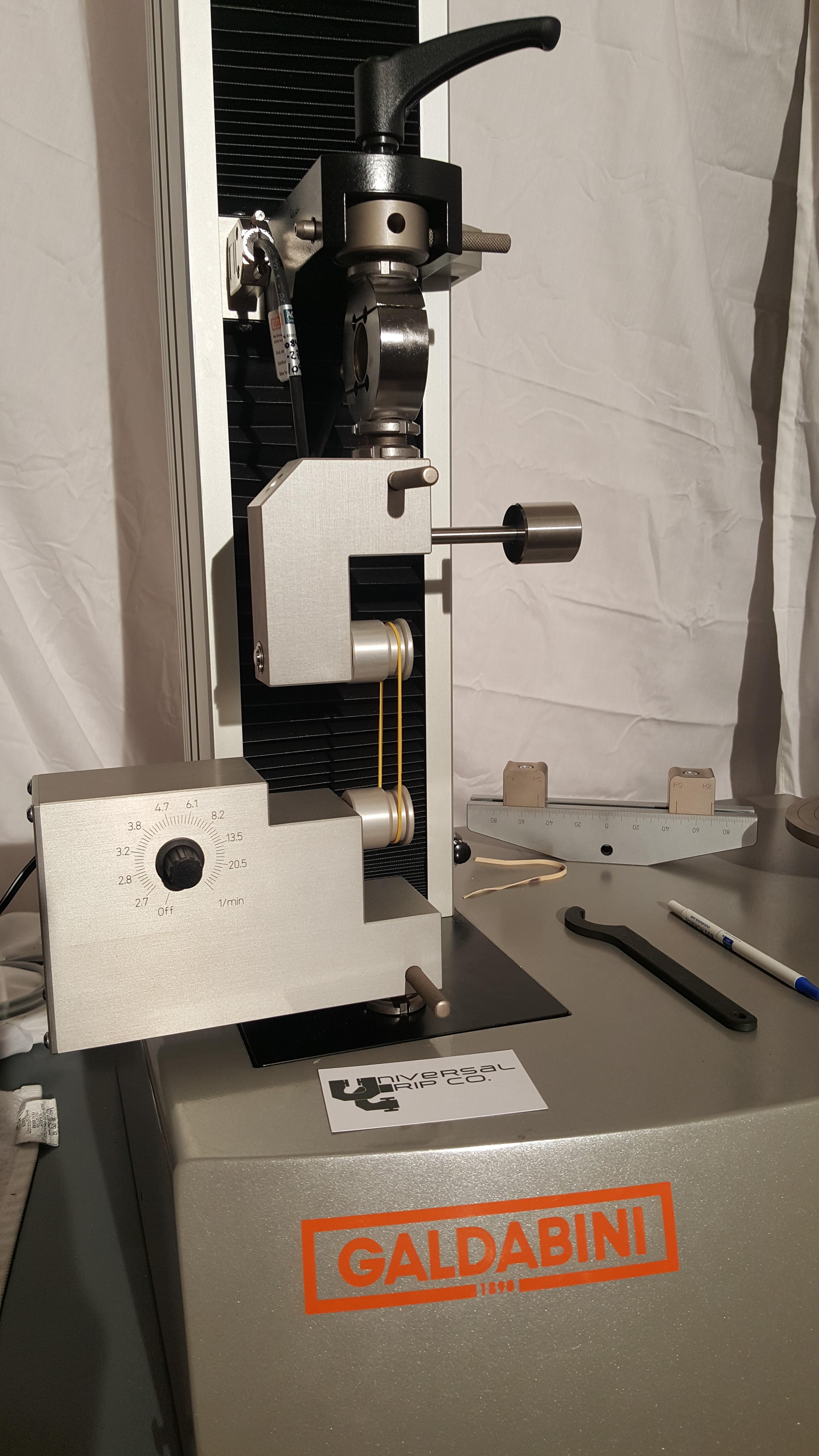 Motorized ASTM D1414 Testing Fixture