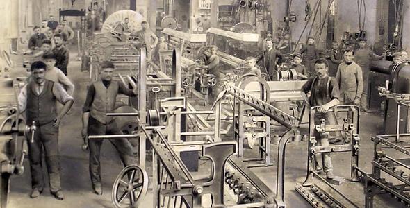 Historical universal testing machine manufacturing