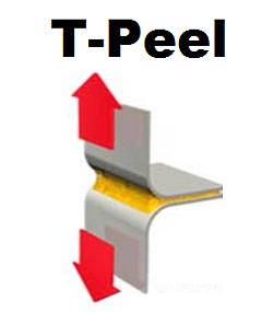 Astm D1876 Adhesive T Peel Test