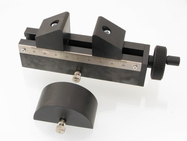 Centric Gear Bend Fixture with large diameter roller