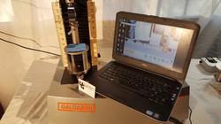 Equipment for ASTM D4032 testing