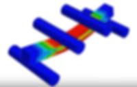 4 point bend test 3D model