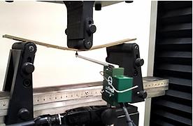 Deflectometer Bend Test