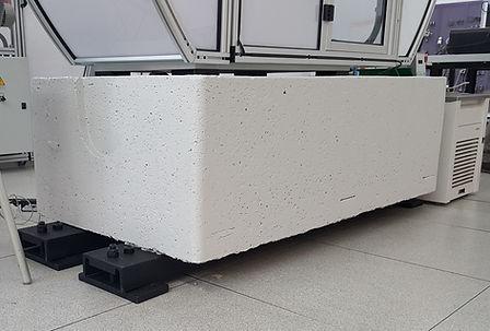 Impact Tester Cement Plinth Platform