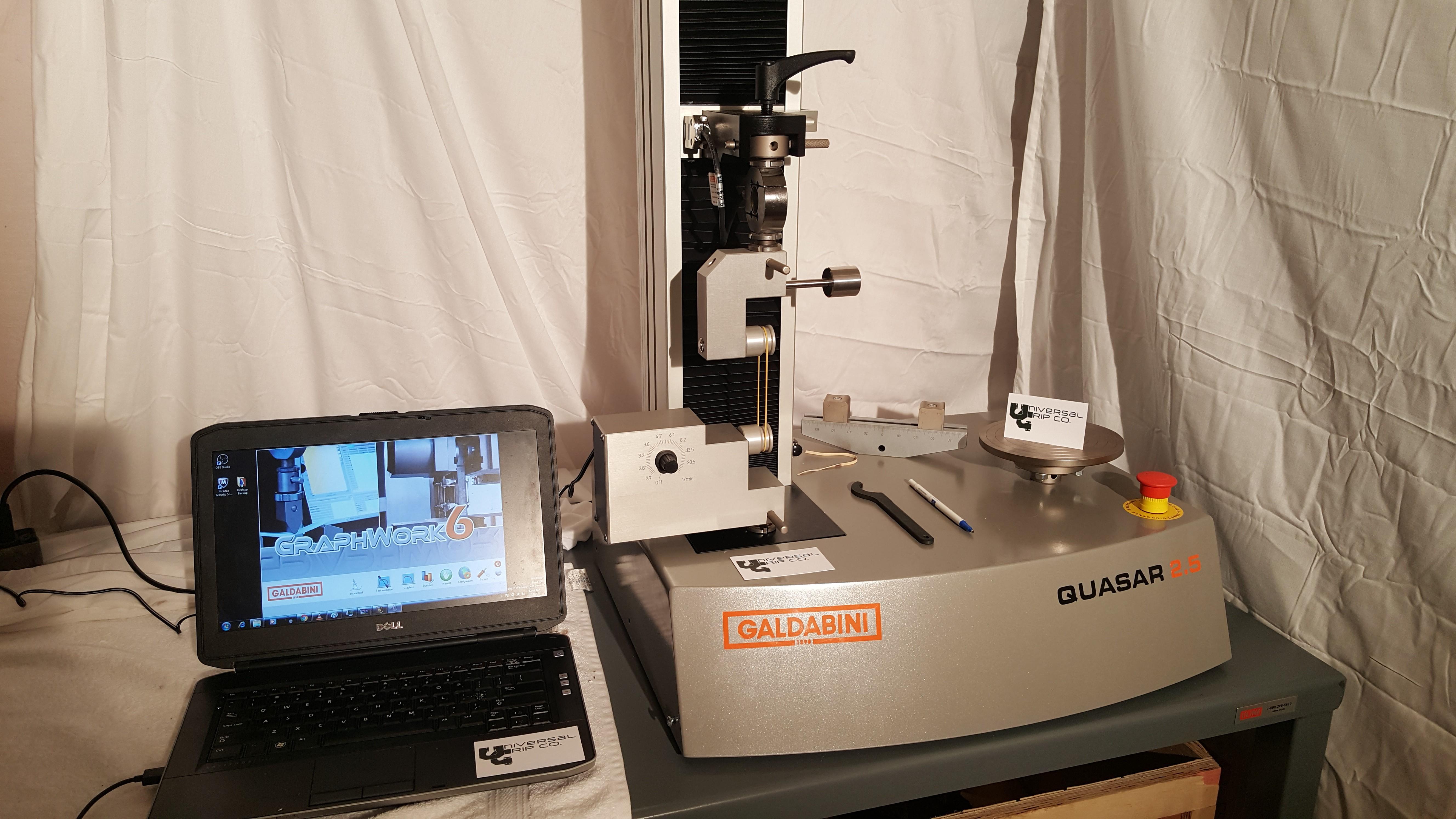 ASTM D1414 Tensile Testing on Rubber O-rings