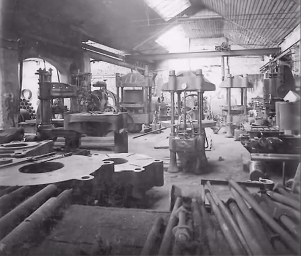 Historical UTM manufacturing plant Galdabini