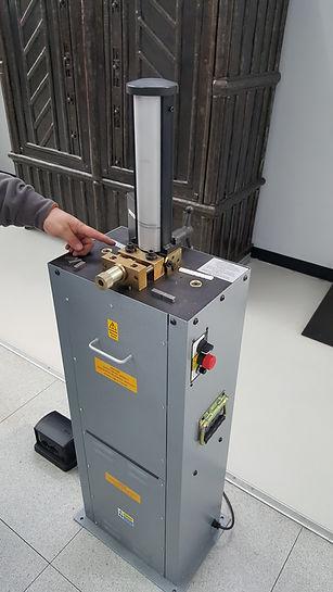 Impact Testing Broaching Machine
