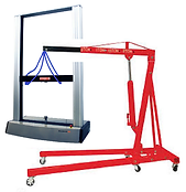 How to Lift a Universal Testing Machine