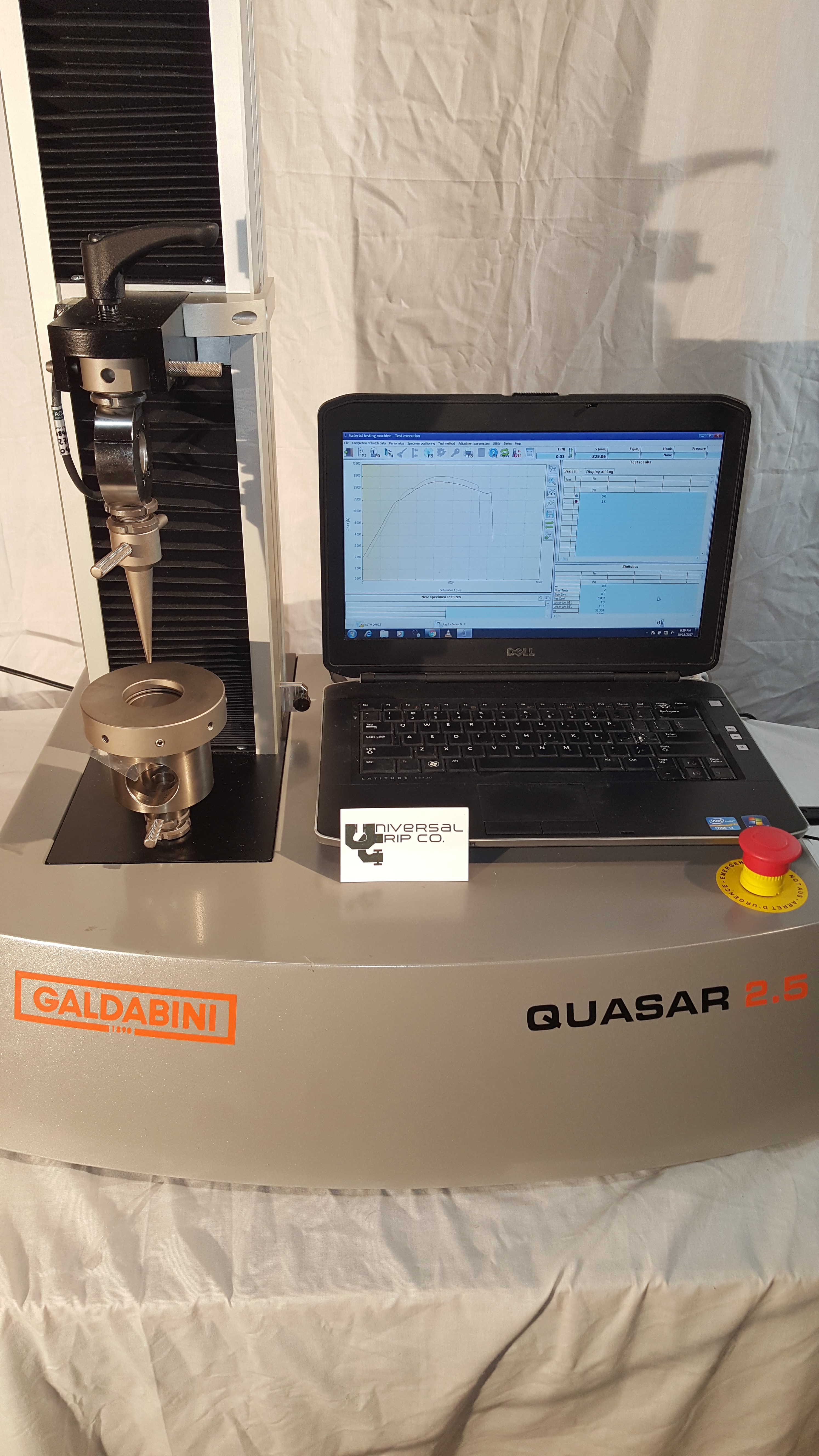 Universal Testing Machine for ASTM F1306