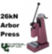 26kN Large Arbor Press