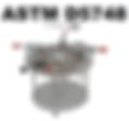 ASTM D5748 stretch wrap puncture fixture