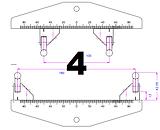 4 point bend fixture diagram
