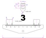 3 point bend fixture diagram
