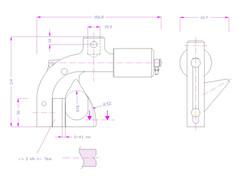 Bollard Grips Schematic Design