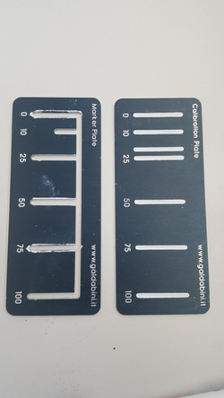 Calibration Plate for Video Extensometers